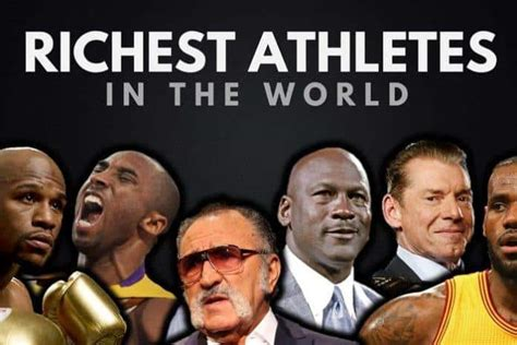 the top 20 richest athletes in the world 2017 wealthy gorilla
