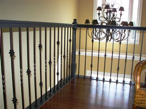 Metal Stair Banisters by Iron Balusters Stair Spindles Staircase Wood
