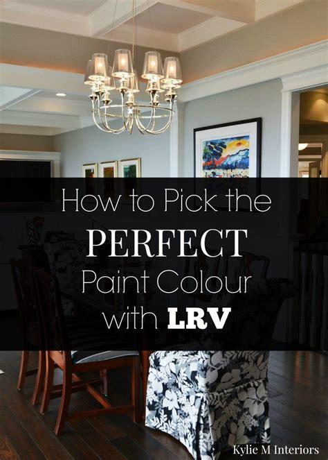 tips  pick  perfect paint colour  lrv