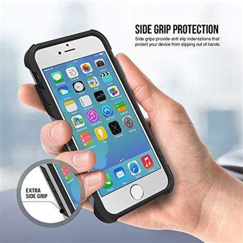 Apple Iphone 6 6s Shock Proof Slim Armor Hybrid Soft Casing iphone 6s obliq xtreme pro gun metal hybrid rugged dual layered all around shock slim