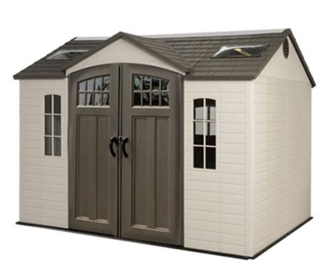 Lifetime 10x8 Garden Shed by Simple Wood Bird House Plastic Storage Shed Costco Shed Store Reviews