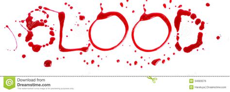 Letter With Blood Bloody Letters Blood Royalty Free Stock Image Image 34683076