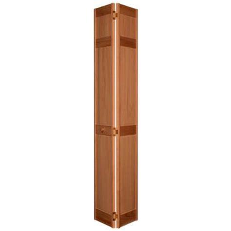 18 In X 80 In 6 Panel Golden Oak Composite Interior Bi 18 Bifold Closet Door