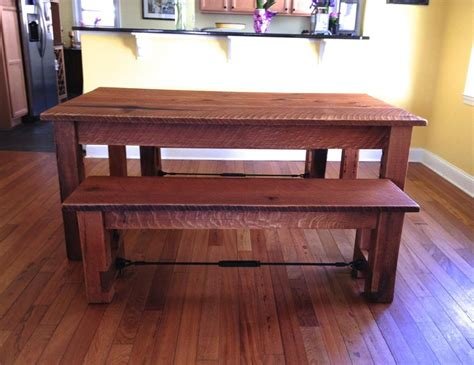 oak dining benches reclaimed oak dining table benches cz woodworking