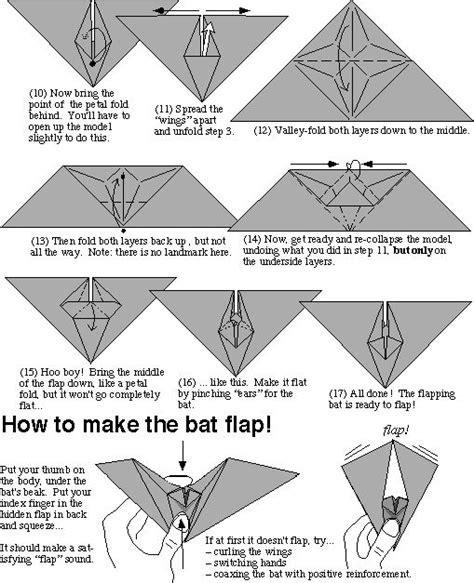 How To Make A Origami Bat - how to make origami bat driverlayer search engine