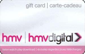 Hmv Gift Card - gift card hmv digital hmv canada col ca hmv 002 vl11004