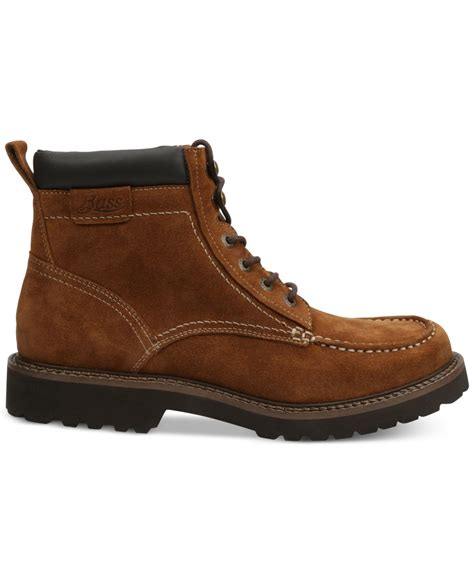 bass s boots g h bass co errol moc toe boots in brown for rust