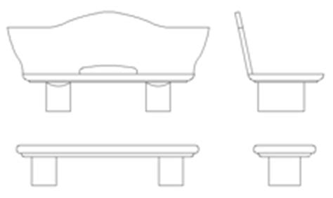 2d bench benches 2d
