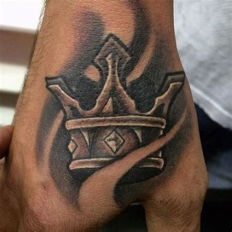 right hand tattoo designs crown images designs