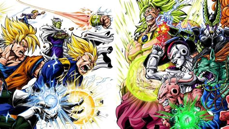 dragon ball z villains wallpaper dragon ball z gt wallpapers wallpapersafari