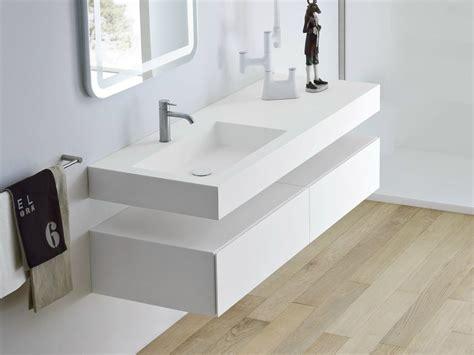 corian aufsatzwaschbecken unico waschbecken mit waschtisch by rexa design design