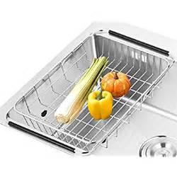 sanno dish rack sink adjustable arms