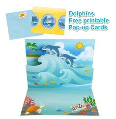 printable birthday cards with dolphins 1000 images about cards pop up on pinterest pop up