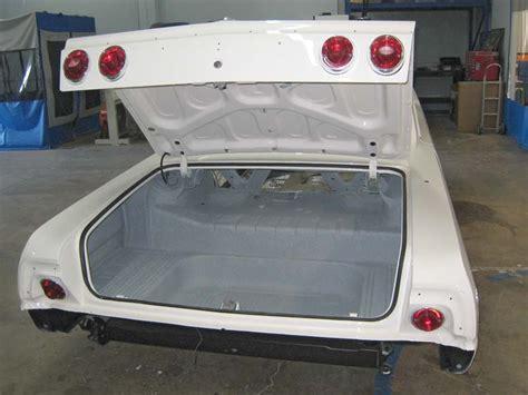 64 impala trunk pan trunk lid area photos 64 impala chevytalk