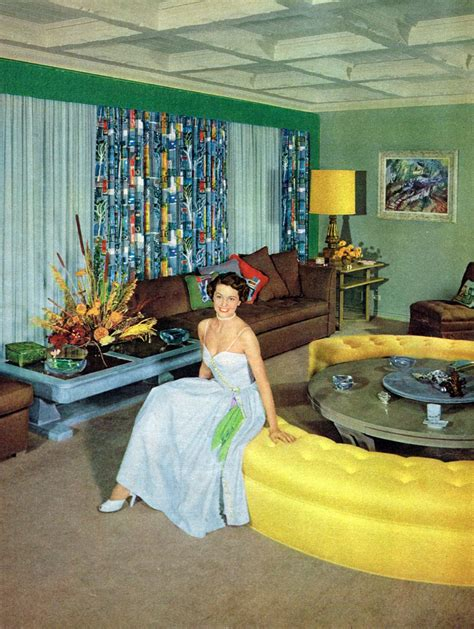1950s Living Room | 1950s unlimited dtxmcclain cyd charisse in her living