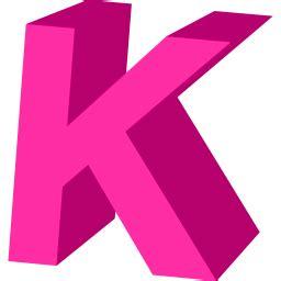 Letter K Icon   Alphabet Iconset   Ariil