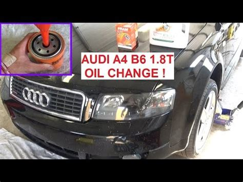 Oil For Audi A4 by Audi A4 B6 Oil Change How To Change The Oil On Audi A4 1
