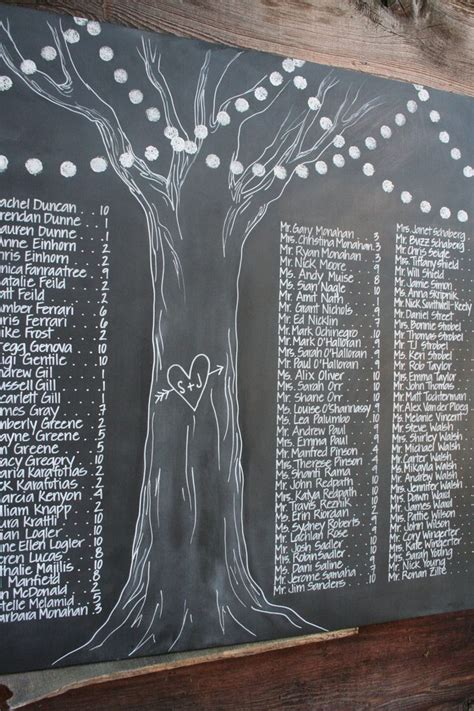 diy chalkboard table seating chart best 25 chalkboard seating charts ideas on