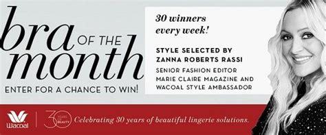 Wacoal Bra Giveaway - 30 years of beauty giveaway sweepstakesbible