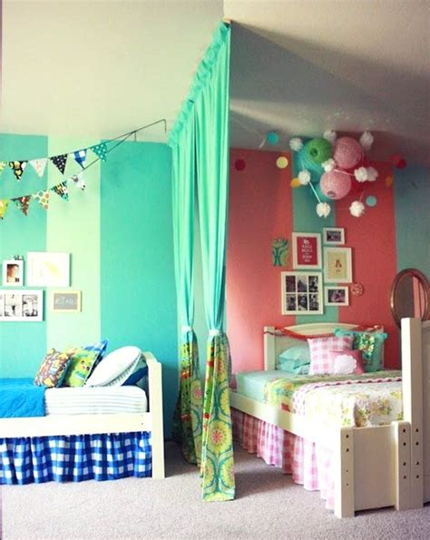 agréable Photo Chambre Petite Fille #1: amenagement-chambre-double-mixte.jpg