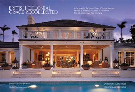 Grace Home Design Inc by Florida Design Magazine Fine Interior Design