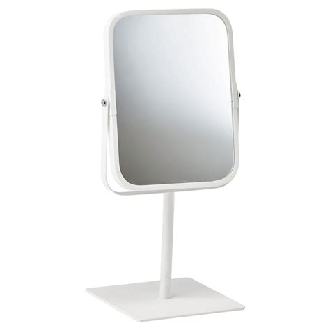 White Bathroom Table by Quanova Bathroom Dressing Table Mirror White Black By
