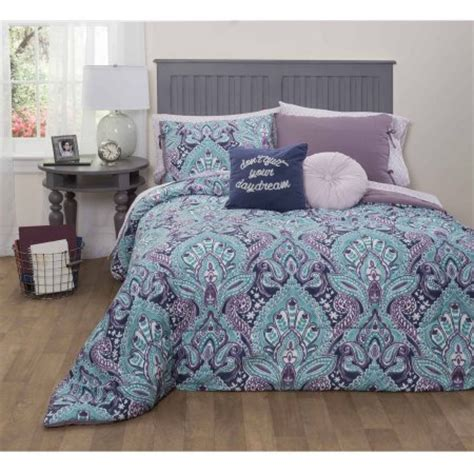 walmart queen comforter sets formula mia damask bed in a bag bedding set queen