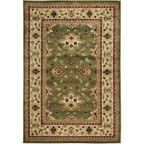 7 X 8 Area Rugs Shayd Green 7 Ft 8 In X 10 Ft 10 In Indoor Outdoor Area Rug 301731 The Home Depot