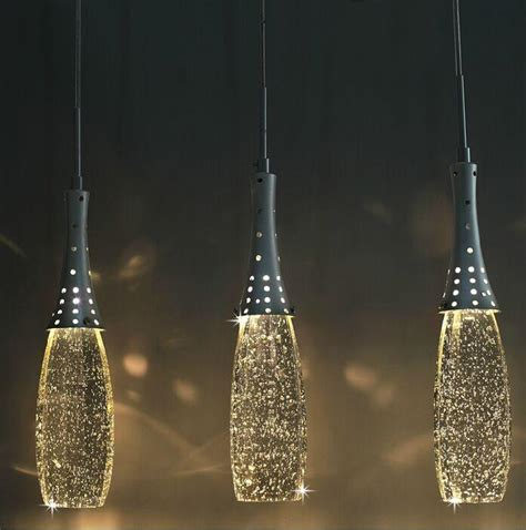Kitchen Island Stainless modern crystal lights bubble pendant light with g4 bulbs