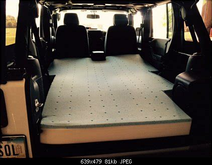 jeep wrangler unlimited mattress sante