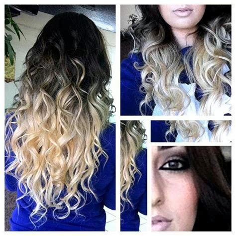 Black And Blonde Ombre Images | black blonde ombre hair ombr 233 hair pinterest