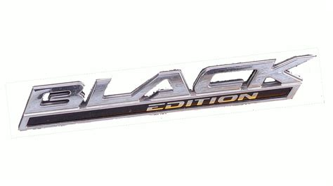 black edition badge suits vf commodore genuine holden emblem