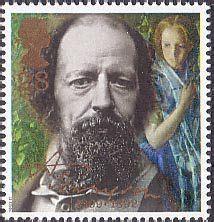 Great Britain Tennyson Poet 1992 Fd Cover millennium series the inventors tale 63p st 1999