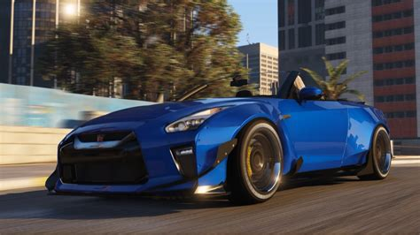 convertible nissan mod gta 5 2017 r35 nissan gtr convertible the