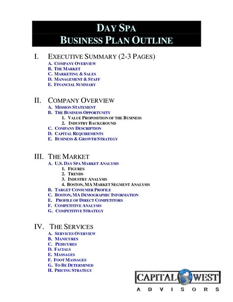 spa business plan template business plan spa homeworktidy x fc2