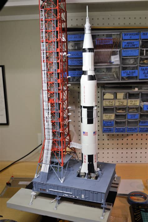 puttering   study saturn  mobile launch tower