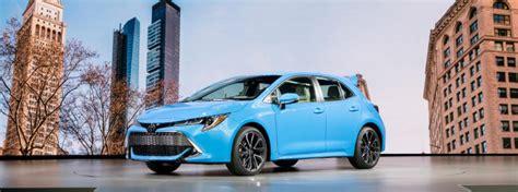 toyota corolla hatchback trim levels  prices