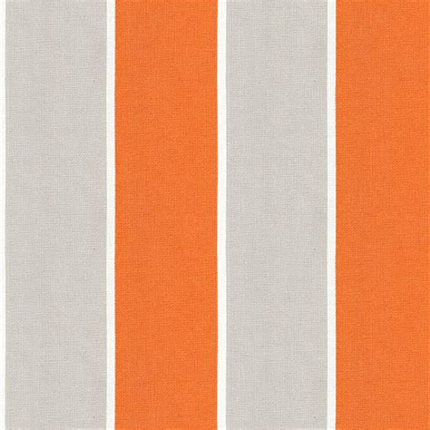Outdoor Awning Fabric by Orange Grey Awning Stripe Outdoor Fabric Modern Outdoor Fabric By Loom Decor