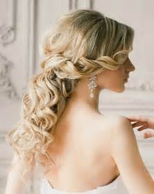 of hair styles wedding hairstyles for medium length hair half up half