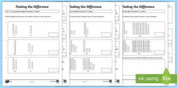 Difference Between One Year And Two Year Mba by Year 2 Finding The Difference Differentiated Activity Sheets