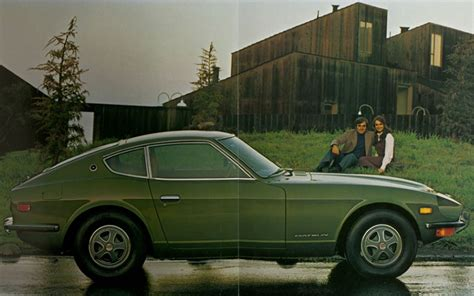 vintage datsun vintage ad 1971 datsun 240z is so pretty and potent photo