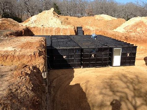 steel bomb shelters being installed for the home