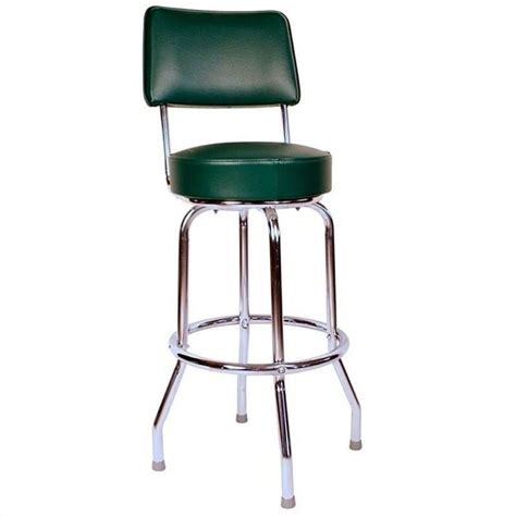 Stools Green by Richardson Seating Retro 1950s Swivel 24 Quot Bar Stool In