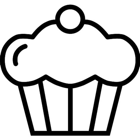 cupcake free food icons