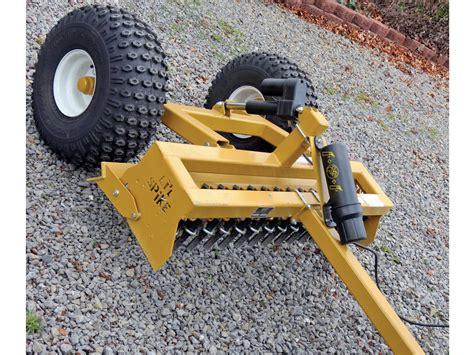 garden tractor implements  grading driveways home