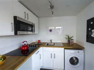 Tiny Kitchen Makeover - upcycled shipping containers affordable housing for low income people