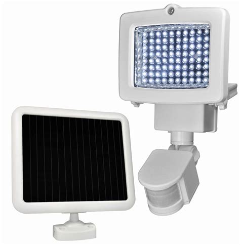 solar light led sunforce 80 led solar motion light