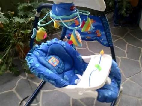 ocean baby swing fisher price baby swing sea aquarium youtube