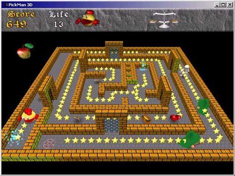 Pacman 3D Games Downloads