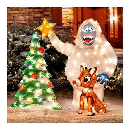 rudolph and bumble outdoor christmas decoration 17 best